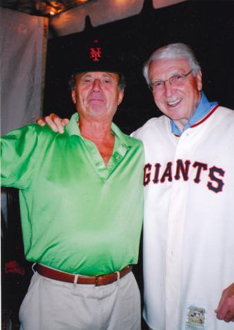 Bobby Thomson and Lorenzo Baccalà